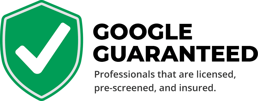 Google guarantees CTI Roofing to be licensed, insured and prescreened for roof installation